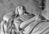 Max Emil: gróf Rhédey Mária sírszobra a Rhédey-Mikó sírboltban (részlet)