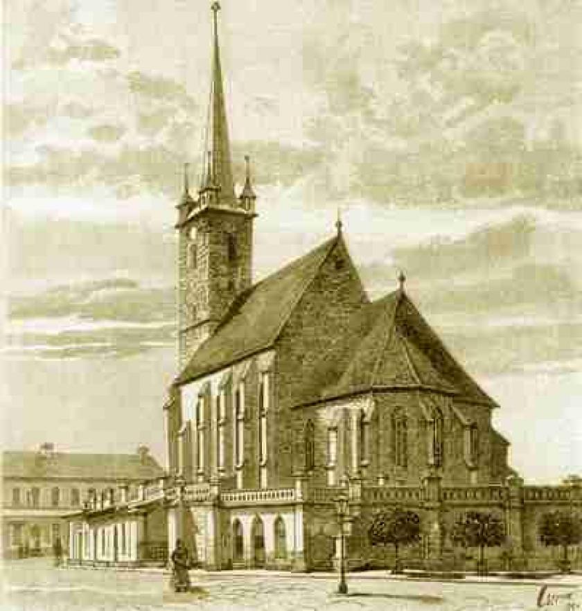 A deési református templom (1901)