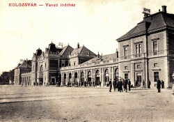 Kolozsvár, Vasútállomás
