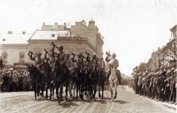 román hadsereg bevonul Kolozsvárra